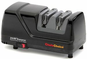 Chefs Choice Diamond Hone Professional Electric Sharpener for 15° Knives 315XV