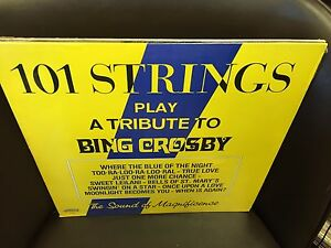 101 Strings Play a Tribute to Bing Crosby vinyl LP Alshire SEALED