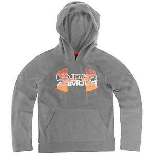 Under Armour UA Tri-Blend Hoody Boys 1271873-041 Grey Kids Hoodie Youth Size XL