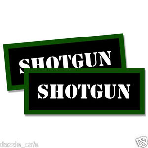 SHOTGUN Shell Ammo Can Labels Ammunition Case stickers decals 2 pack 3inch wide
