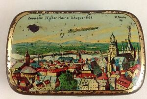 early airship candy tin germany c1908 lz4