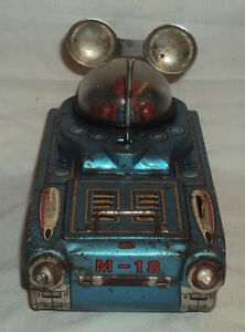 old very rare 1960s japanese tn tinplate space