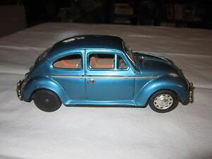 vintage tin vw japan bandai toy volkswagen