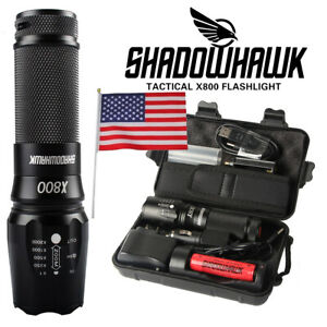 Super-bright Shadowhawk 20000lm Flashlight L2 CREE LED Military Tactical Torch
