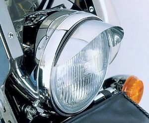 Honda CB 250 350 400 500 650 900 Shadow 750 Spirit 1100 CHROME HEADLIGHT VISOR