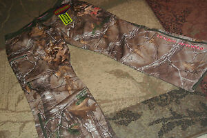 NEW UNDER ARMOUR COLDGEAR INFRARED RIDGE REAPER CAMO HUNTING PANTS WOMEN'S 16!