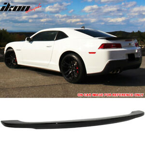 Fits 14-15 Chevy Camaro OE Style Trunk Spoiler Painted Black - ABS