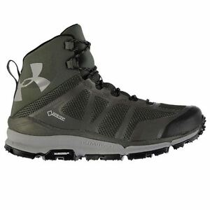 Under Armour Mens Verge Mid GTX Walking Boots Waterproof Breathable Outdoor Shoe