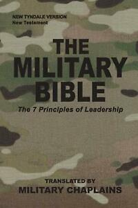 Military Bible by Military Chaplains Paperback Book Free Shipping!