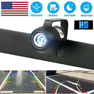 WiFi HD Wireless Car Rear View Cam Backup Reverse Camera For Android IOS iPhone $21.98