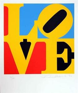 FABULOUS! Robert Indiana, The Book Of Love 6, 1996 Limited Edition Hand Signed