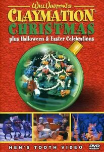 Will Vinton#x27;s Claymation Christmas Plus Halloween amp; Easter Celebrations New DVD $20.98