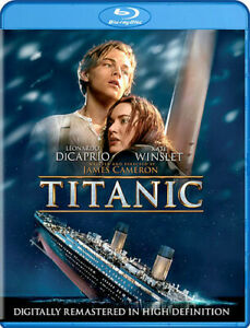Titanic New Blu ray With DVD UV HD Digital Copy Boxed Set Digital