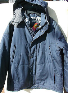 NEW WITH TAG UNDER ARMOUR INFRARED COLDGEAR WINTER JACKET W HOOD SIZE 2XL NAVY