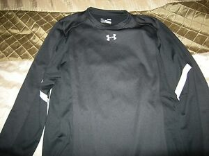 Brand New Mens Black Under Armour Cold Gear Loose Fit Shirt Size XL