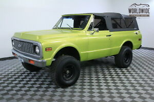 1972 Chevrolet Blazer LIFTED 4X4 FULL CONVERTIBLE SOFT TOP 1972 Green LIFTED 4X4 FULL CONVERTIBLE SOFT TOP!
