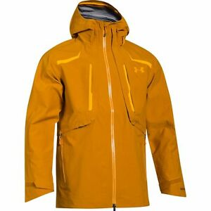 UNDER ARMOUR Men's NIMBUS GORE-TEX Shell Jacket - Moccasin - Large - NWT
