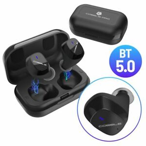 Cobble Pro True Wireless Bluetooth 5.0 Stereo Headphone Earbud Portable Charging