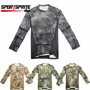 Chiefs CAMO SPORT-TEK MEN'S MOISTURE WICKING DRY FIT LONG SLEEVE T-SHIRT
