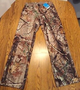 COLUMBIA Hunting Pant NEW PHG Mens Small Stealth Shot Lite Real Tree FREE SHIP