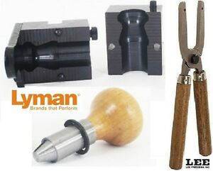 Lyman 1-Cavity Foster Slug Mold 12 Gauge 525 gr with Lee handles 2654112+90005
