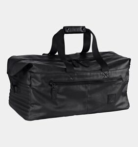 NWT UNDER ARMOUR 35th & O COLLECTION LEATHER DUFFLE BAG 1249560 001 Retail $299