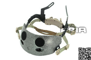 FMA  Helmet Occ-Dial Liner Kit System (Dark Earth) For Airsoft MICH aor1 TB271