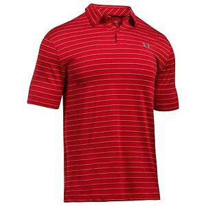 Under Armour Mens Coolswitch Golf Polo Shirt Elastic UPF 30 Protection HeatGear