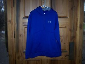 Under Armour Men's Storm Armour  ZIP UP Hoodie-XLARGE-LOOSE-BLUE-GREAT COLOR