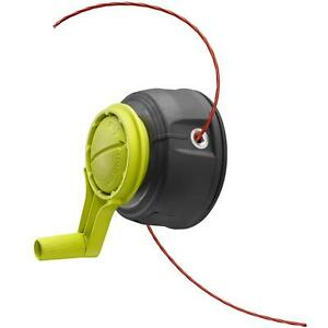 Ryobi STRAIGHT SHAFT String Trimmer Replacement Bump Head + Speed Crank + Line