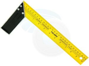 12 inches 30cm Construction Carpenter Ruler L Shape Angle Square Ruler $5.70