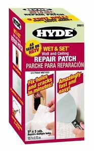 Wet and Set Contractor Roll Wall and Ceiling Repair Patch Perfectly Cover Holes