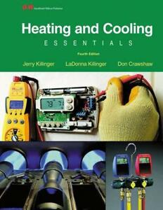 Heating and Cooling Essentials by Jerry Killinger (English) Hardcover Book Free
