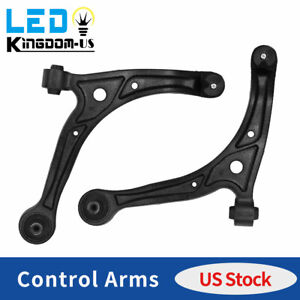 2pcs Front Control Arms W Pre Assembled Ball Joint For 99 04 Honda Odyssey 3.5L $63.02
