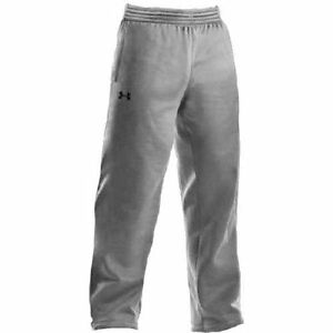 Under Armour Men's Armour Fleece Team Pants Extra Large True Gray Heather New