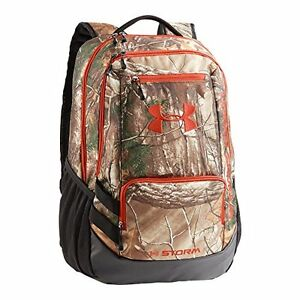 Under Armour Camo Hustle Backpack Realtree Ap-XtraDynamite One Size Sports