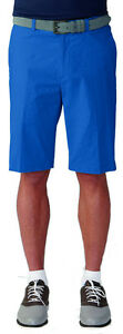 Ashworth Pinstripe Slub Shorts Coastal Blue 34