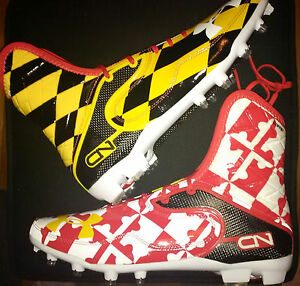Under Armour team-issued Maryland Pride CAM NEWTON Highlight cleats sz 12 rare