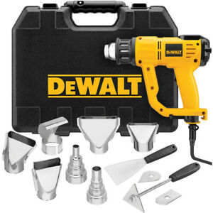 DEWALT Heavy Duty Heat Gun w/ LCD Display & Kitbox D26960K New