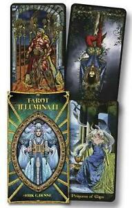 Illuminati Tarot Deck by Kim Huggens (English) Free Shipping!
