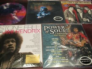 JIMI HENDRIX TRIBUTE STONE FREE POWER OF SOUL REDDING  PICTURE DISC + MOORE LIVE