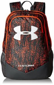 Under Armour Boys Storm Scrimmage Backpack Magma OrangeRhino Gray One S
