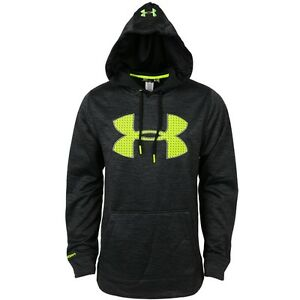 New Mens Under Armour Big Logo Hoodie Hooded Small Medium Large XL 2XL 3XL