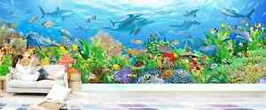 3D Wonderful Colored Sea World 38 Wall Paper Wall Print Decal Wall AJ Wall Paper