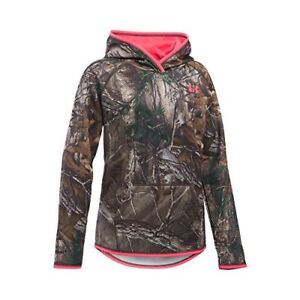 Under Armour Girls' Icon Camo Realtree Ap-XtraPink Chroma Youth X-Small New