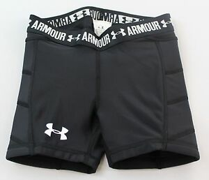 Under Armour Girls Fitted Shorts NWT Size Extra Small Retail $30