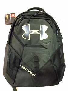 UNDER ARMOUR UA  BIG LOGO IV STORM1  BACKPACK  15'' LAPTOP COMPARTMENT GREEN