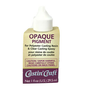 Dye Colorant Tint Resin Epoxy 30ml Opaque Transparent Color by Castin Craft $14.49