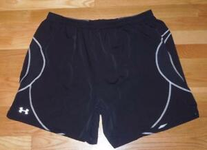 AUTHENTIC UNDER ARMOUR MENS SHORTS SIZE 2XL XXL UA LINED FITNESS