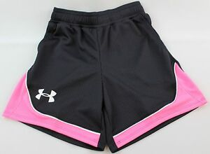 Under Armour NWT Youth Girls Heat Gear Shorts Size XS Retail $28 1272088-002